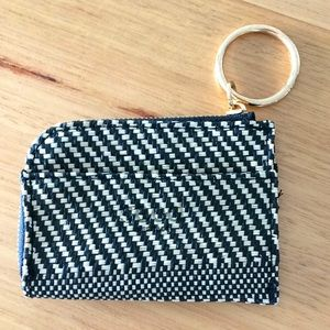 SEED HERITAGE woven coin purse - like new!